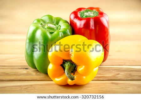 Bell peppers - stock photo