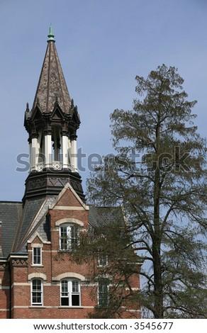 Bell Tower Fisk University - stock photo