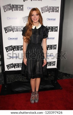 "Bella Thorne at the ""Pitch Perfect"" World Premiere, Arclight, Hollywood, CA 09-24-12"