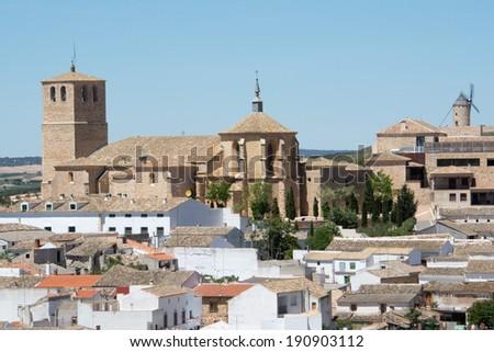 Belmonte, Cuenca (Spain) - stock photo