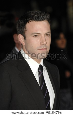 "BEN AFFLECK at the world premiere of ""Catch and Release"" at the Egyptian Theatre, Hollywood. January 22, 2007  Los Angeles, CA Picture: Paul Smith / Featureflash"