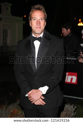 Ben Fogle arriving for The Sun Military Awards, at The Imperial War Museum, London. 06/12/2012 Picture by: Alexandra Glen