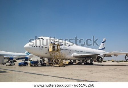 Ben Gurion Airport Tel Aviv Israel Stock Photo 666198268 Shutterstock