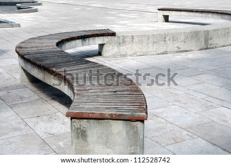 Benches and edges
