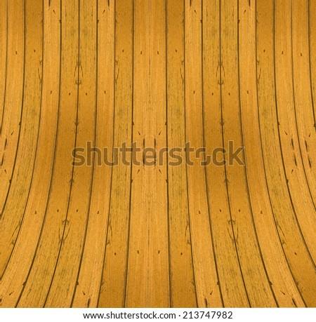 Bend Wood Stock Photo