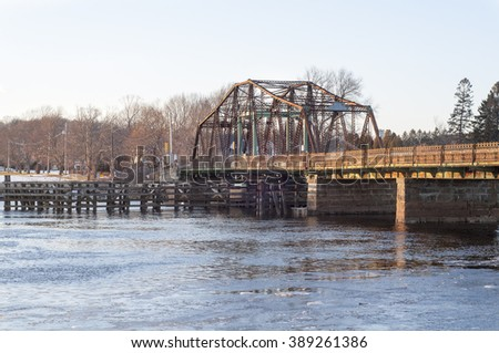 Berkley bridge before extensive reconstruction was begun