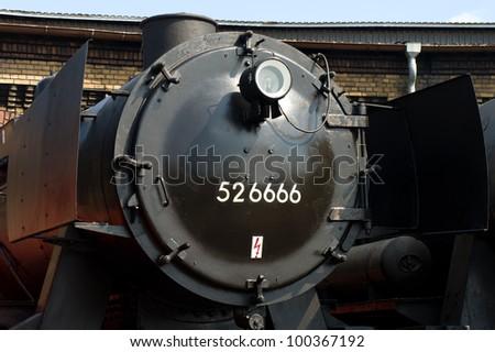 berlin april 14 steam locomotive skoda pilsen 1492. Black Bedroom Furniture Sets. Home Design Ideas