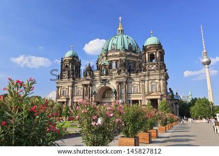 Berlin Cathedral (Berliner Dom), Berlin, Germany - stock photo