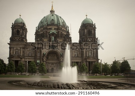 Berlin Cathedral (Berliner Dom), Berlin, Germany - stock photo
