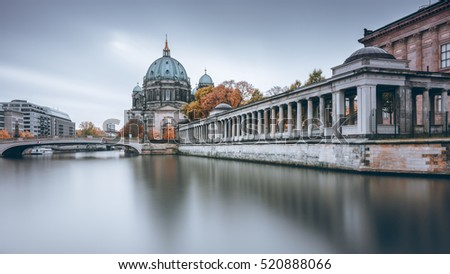 Berlin Cathedral in autumn colors
