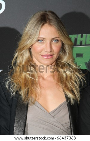 BERLIN - DECEMBER 03: Cameron Diaz attends the Photocall of 'The Green Hornet' at the Hotel Adlon on December 3, 2010 in Berlin, Germany - stock photo