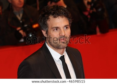 BERLIN - FEBRUARY 13: Actor Mark Ruffalo attends the 'Shutter Island' Premiere during day three of the 60th Berlin  Film Festival at the Berlinale Palast on February 13, 2010 in Berlin, Germany - stock photo