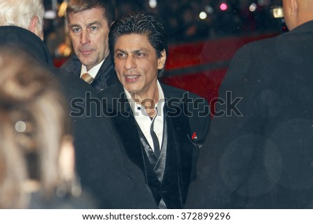 BERLIN - FEBRUARY 12: Actor  Shahrukh Khan attends the 'My Name Is Khan' Premiere during day two of the 60th Berlin Film Festival at the Berlinale Palast on February 12, 2010 in Berlin, Germany - stock photo