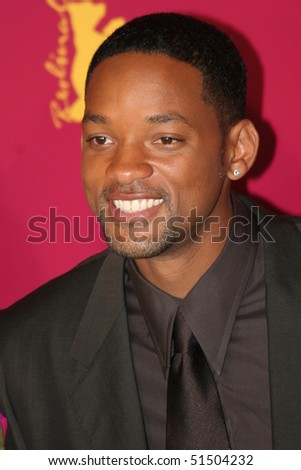 BERLIN - FEBRUARY 18: Actor Will Smith poses at the 'Hitch' Photocall during the 55th annual Berlinale International Film Festival on February 18, 2005 in Berlin, Germany - stock photo