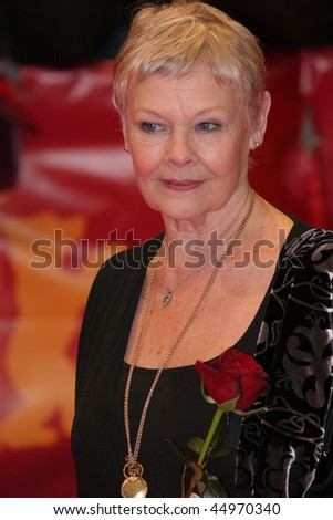 BERLIN - FEBRUARY 12: Actress Judi Dench attends the premiere to promote the movie 'Notes On A Scandal' during the 57th Berlin International Film Festival  on February 12, 2007 in Berlin, Germany