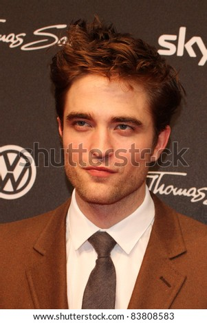 BERLIN, GERMANY - APRIL 27: Actor Robert Pattinson attends the 'Water For Elephants' Germany premiere at CineStar on April 27, 2011 in Berlin, Germany. - stock photo
