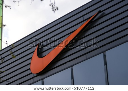 Berlin Germany April 26 2016 Nike Stock Photo 510777112