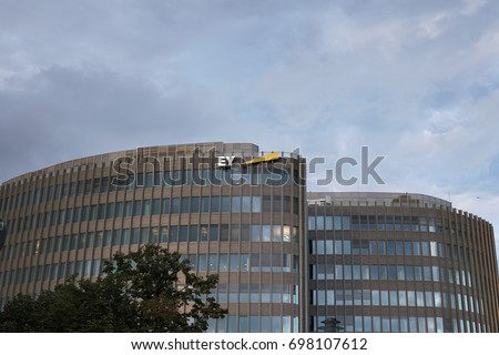 Berlin Germany August 13 2017 EY Stock Photo (Royalty Free ...