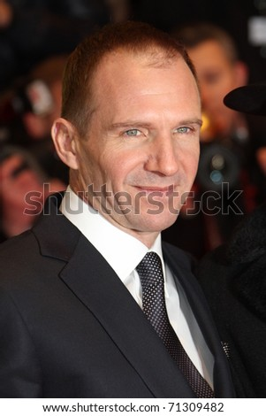 BERLIN, GERMANY - FEBRUARY 14: Actor Ralph Fiennes attends the 'Coriolanus' Premiere during  of the 61 Berlin  Film Festival at Berlinale Palace on February 14, 2011 in Berlin, Germany