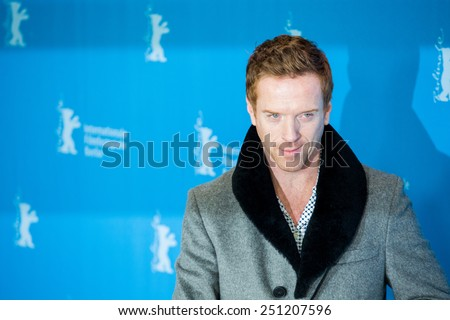 BERLIN, GERMANY - FEBRUARY 06: Damian Lewis, press conference during the 65th Film Festival at Hyatt Hotel February 6, 2015 in Berlin, Germany. - stock photo