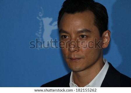 BERLIN, GERMANY - FEBRUARY 08: Daniel Wu attends 'That Demon Within' (Mo Jing) photocall during 64th Berlinale Film Festival at Grand Hyatt Hotel on February 8, 2014 in Berlin, Germany.  - stock photo