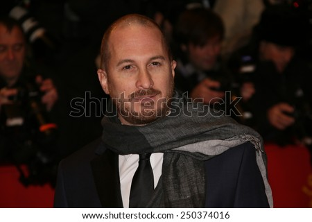 BERLIN, GERMANY - FEBRUARY 05: Darren Aronofsky  attends the opening party during the 65th Berlinale  Film Festival at Berlinale Palace on February 5, 2015 in Berlin, Germany. - stock photo