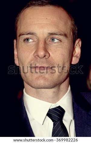 BERLIN, GERMANY - FEBRUARY 15: Michael Fassbender attends the 'Haywire' Premiere during day seven of the 62nd Berlin Film Festival at the Berlinale Palast on February 15, 2012 in Berlin, Germany. - stock photo
