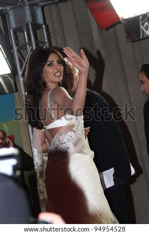 BERLIN, GERMANY - FEBRUARY 11: Priyanka Chopra attends the 'Don - The King Is Back' Premiere during of the 62nd Berlin Film Festival at the Friedrichstadtpalast on February 11, 2012 in Berlin, Germany