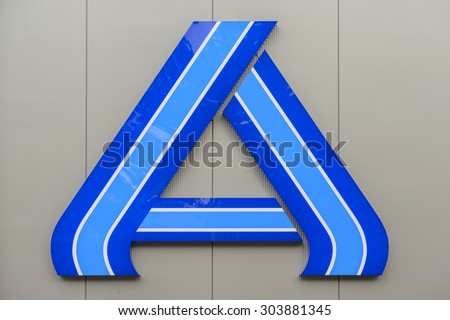 Berlin Germany July 23 Logo Brand Stock Photo Download Now