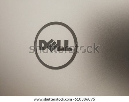 Berlin Germany March 22 2017 Dell Stock Photo Royalty Free