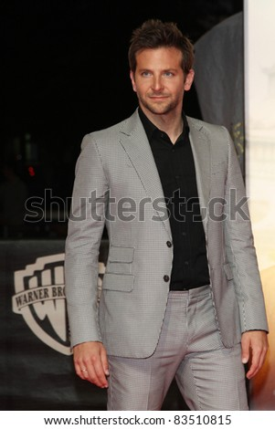 BERLIN, GERMANY - MAY 25: Bradley Cooper attends the premiere of the 'The Hangover Part II' at CineStar on May 25, 2011 in Berlin, Germany. - stock photo