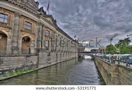 Berlin, Germany, museum island - stock photo
