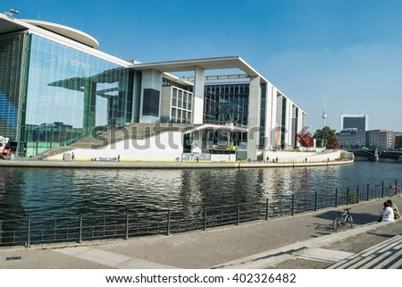 Marie-Elisabeth-Luders-Haus Stock Images, Royalty-Free Images