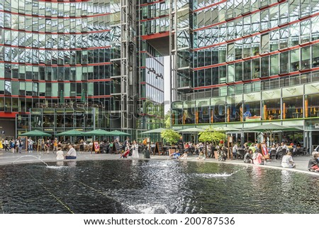 potsdamer platz stock images royalty free images vectors shutterstock. Black Bedroom Furniture Sets. Home Design Ideas