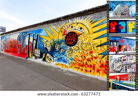 BERLIN MAY 29 East Side Gallery Stock Photo (Royalty Free) 63277471 ...