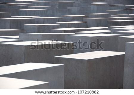Berlin memorial - stock photo