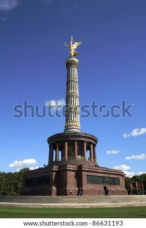 Berlin Victory Column, Berlin, Germany - stock photo