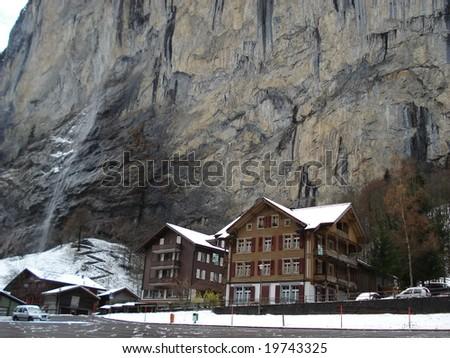 BernerOberland, die Schweiz - stock photo