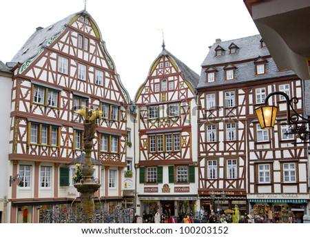 Bernkastel, Rheinland Pfalz, Germany - stock photo