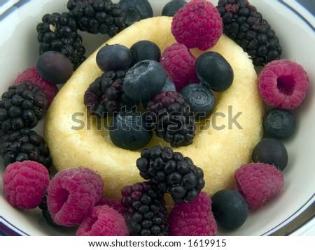 Berry Shortcaked - stock photo