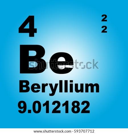 Xenon periodic table elements stock illustration 604477718 beryllium periodic table of elements urtaz Gallery