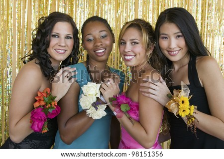 Best Friends Forever - stock photo