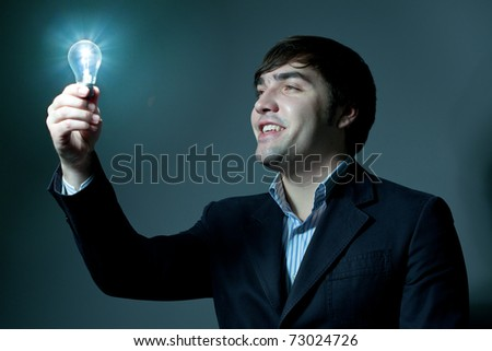 best idea - stock photo
