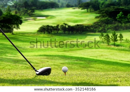 Best images series of golf as a sport, hobby and or  lifestyle