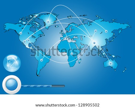 Best Internet Concept of global business