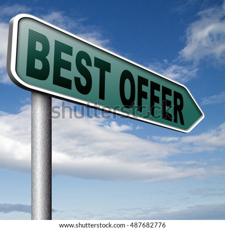 best offer lowest price for value web shop or online promotion,  sign for internet webshop 3D, illustration