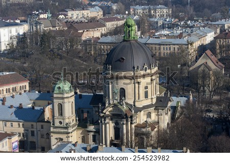 Best places of Lviv city