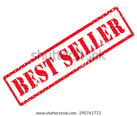Best seller rubber stamp - stock photo