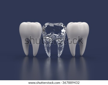 best tooth - stock photo