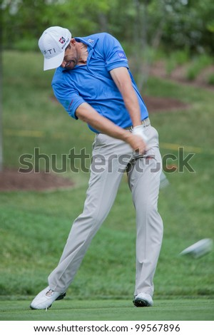 BETHESDA, MD - JUNE 14: Padraig Harrington at Congressional during the 2011 US Open on June 14, 2011 in Bethesda, MD. - stock photo